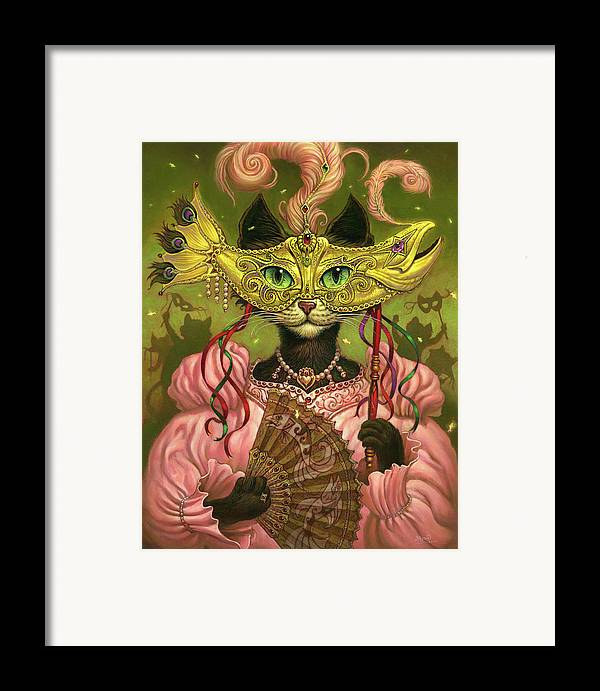 Jeff Haynie Framed Print featuring the painting Incatneato by Jeff Haynie