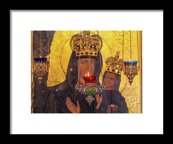 Altar Framed Print featuring the photograph Incense Burners Saint Nicholas Church by William Perry
