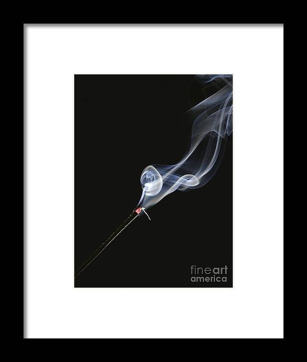Michele Framed Print featuring the photograph Incense by Michele Messina