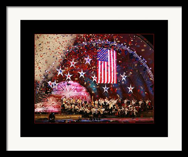 Boston Pops Framed Print featuring the photograph Independence by Kristopher Ventresco