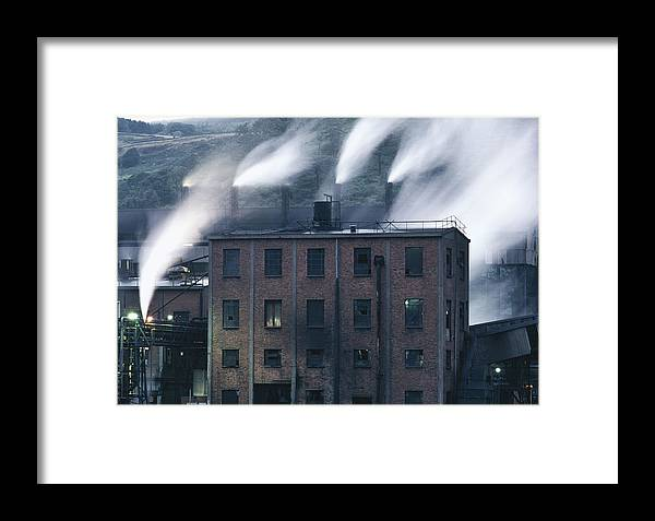 Wales Framed Print featuring the photograph Dark Satanic Mill by Shaun Higson