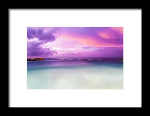 Scenics Framed Print featuring the photograph Infinity Pool, Uluwatu, Bali by John Harper
