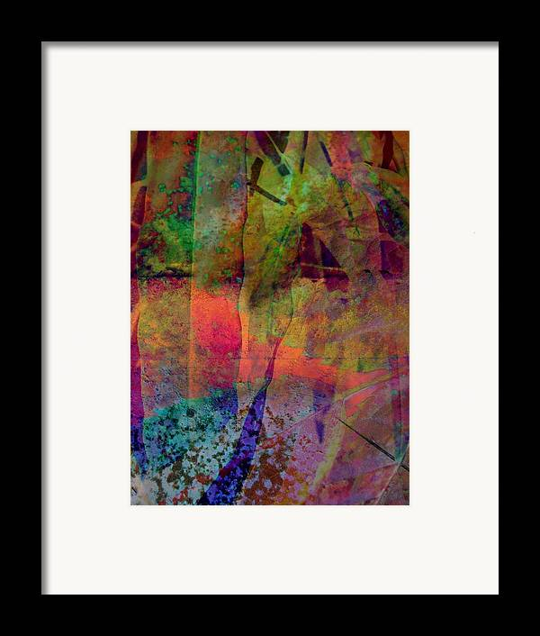 Abstract Framed Print featuring the photograph Inside Autumn by Shirley Sirois