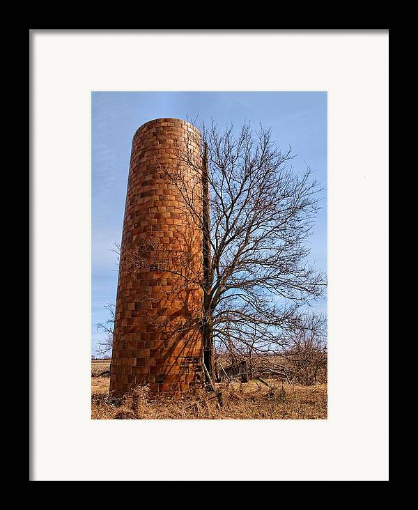 Landscape Framed Print featuring the photograph Inside Out by Tom Druin