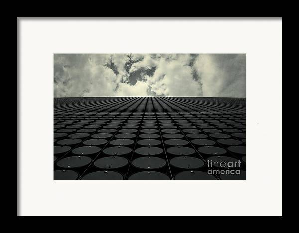 Architecture Framed Print featuring the photograph Interdimensional by Andrew Paranavitana