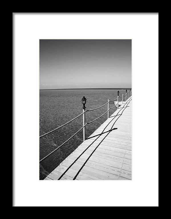 Jezcself Framed Print featuring the photograph Into The Deep Seas by Jez C Self