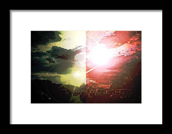 Gridlock Framed Print featuring the photograph Into The Grid by Aaron Simmons