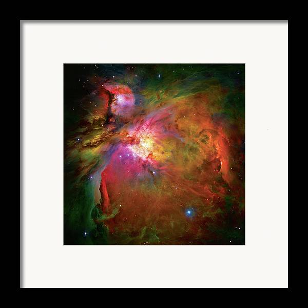 Orion Nebula Framed Print featuring the photograph Into The Orion Nebula by Jennifer Rondinelli Reilly - Fine Art Photography