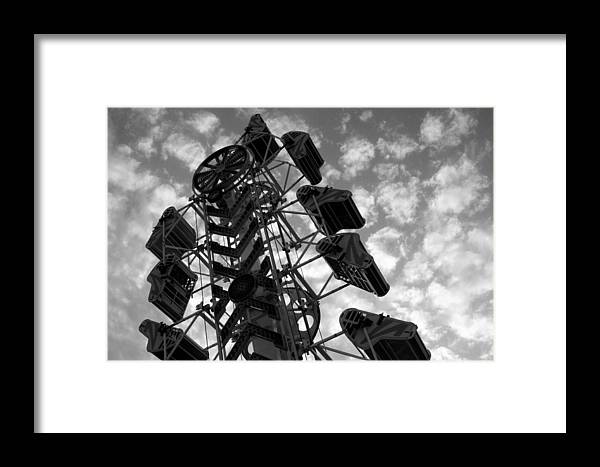 Ride Framed Print featuring the photograph Into The Sky by Joe Kozlowski
