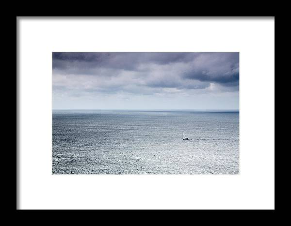 Ireland Framed Print featuring the photograph Into The Storm by MaryGail Perkins