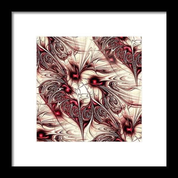 Malakhova Framed Print featuring the digital art Invasion by Anastasiya Malakhova