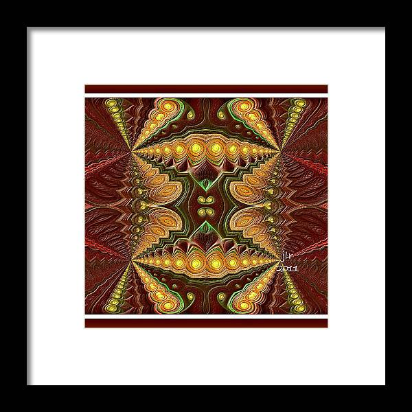 Buddhakat Framed Print featuring the photograph Inverted Cognition by Janet Russell