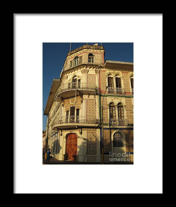 Amazon Framed Print featuring the photograph Iquitos Grand Hotel Palace by Gart Van Gennip