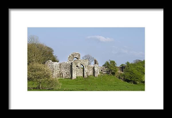 Irish Framed Print featuring the photograph Irish Ruins by Bill Cannon