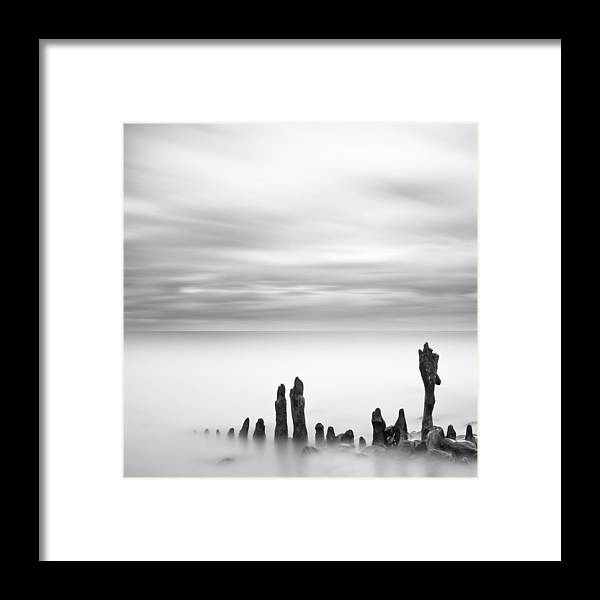 Co. Louth Framed Print featuring the photograph Irish Seascape - A Slow Tide by Maggy Morrissey