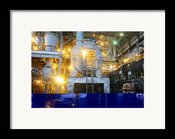 Belgorod Oblast Framed Print featuring the photograph Iron Ore Processing by Science Photo Library
