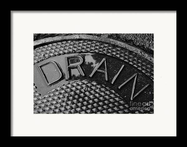 Irony Framed Print featuring the photograph Irony by Luke Moore