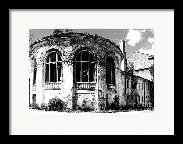 Structure Framed Print featuring the photograph Irreversibility by Vadim Grabbe
