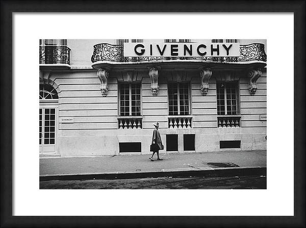 Isabel O'Donnell In Front Of Givenchy by Knight Russell