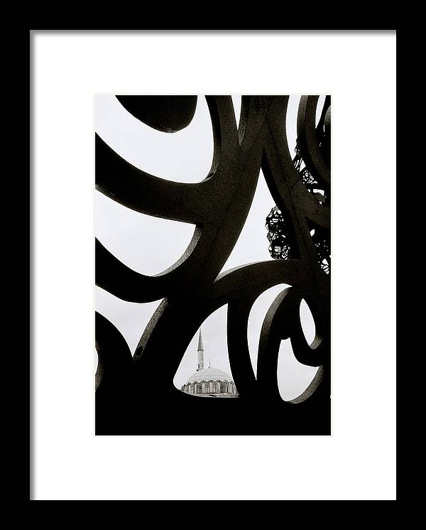Art Framed Print featuring the photograph Islam Within Art by Shaun Higson