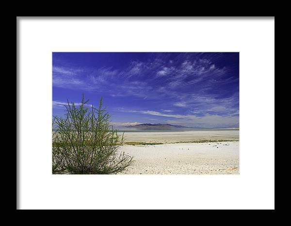 Beach Framed Print featuring the photograph Island Beach by Gene Praag