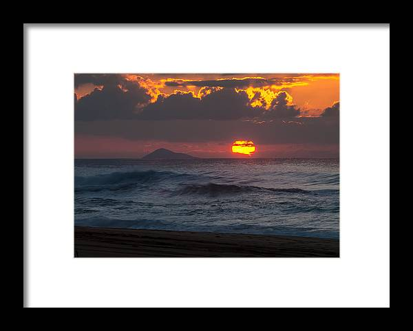 Island Framed Print featuring the photograph Island Sunset by Paul Johnson