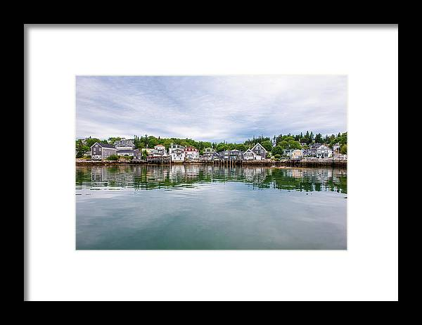 Town Framed Print featuring the photograph Island Village by Edwin Remsberg
