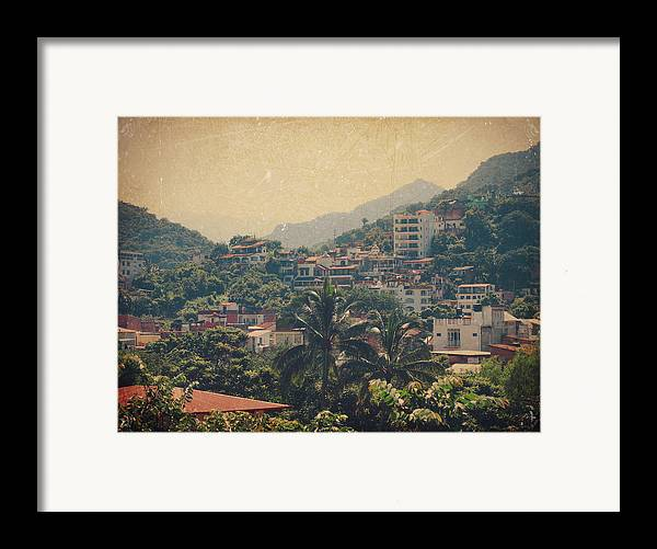 Puerto Vallarta Framed Print featuring the photograph It Was Years Ago by Laurie Search