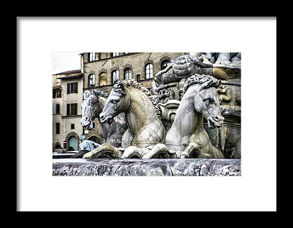 Italy Framed Print featuring the photograph Italian Fountain by Greg Sharpe