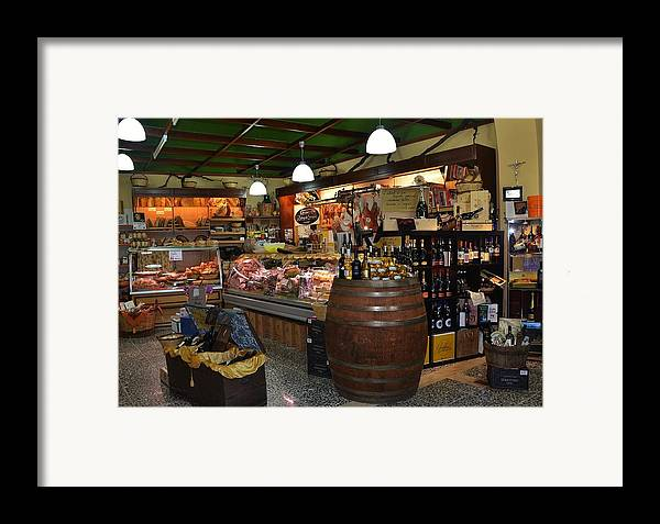 Grocery Framed Print featuring the photograph Italian Grocery by Dany Lison