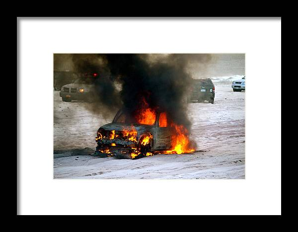 Fire Framed Print featuring the photograph Its Hot In Here by Tommy Pics