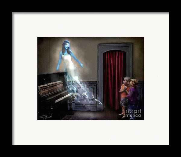 Ghost Framed Print featuring the photograph Ivory Ghost by Tom Straub