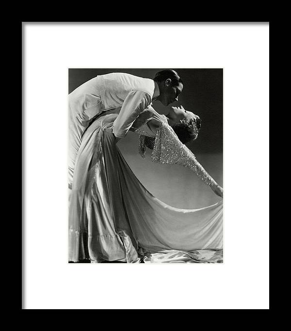 Dance Framed Print featuring the photograph Jack Holland And June Hart Dancing by Horst P. Horst