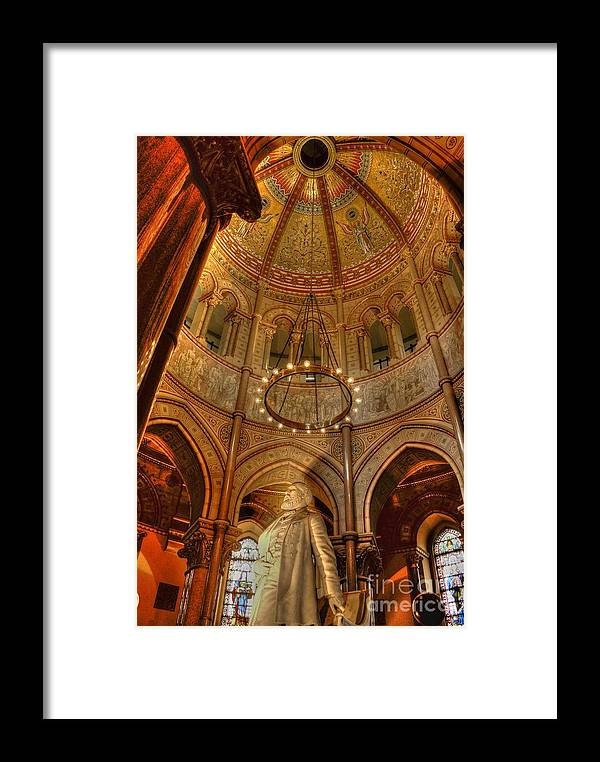 Cleveland Framed Print featuring the photograph James Garfield Tomb by David Bearden