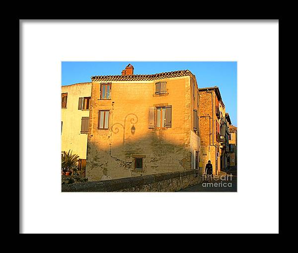 Sunshine Framed Print featuring the photograph The Lady Of Limoux by France Art