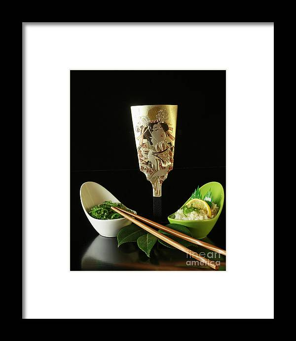 Japanese Framed Print featuring the photograph Japanese Fine Dining by Inspired Nature Photography Fine Art Photography