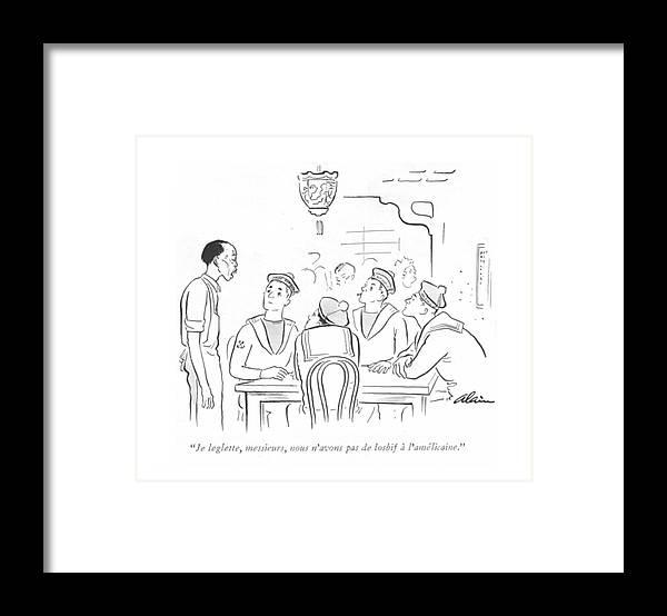 Je Leglette Framed Print