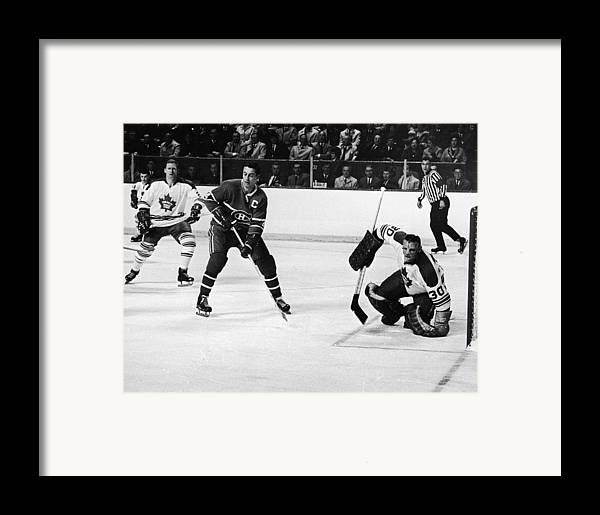 Jean Framed Print featuring the photograph Jean Beliveau Poster by Gianfranco Weiss
