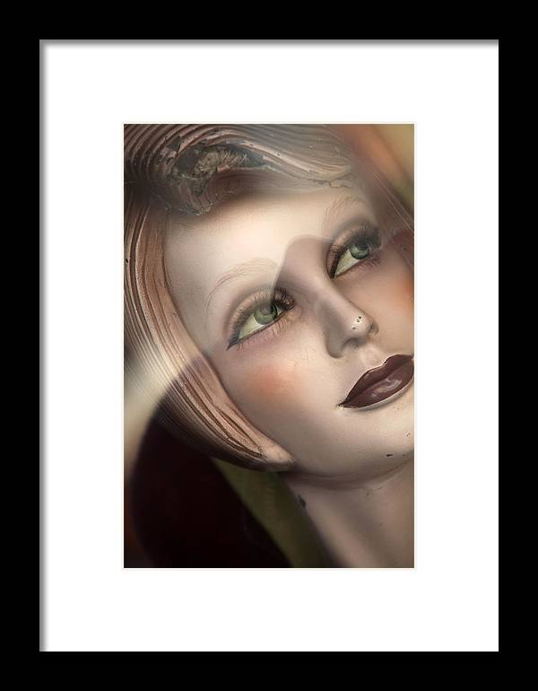 Jezcself Framed Print featuring the photograph Jella by Jez C Self