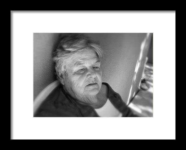 Senior Framed Print featuring the photograph Jenny by Terry Zeyen