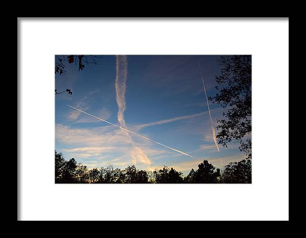 Jets Framed Print featuring the photograph Jet Art 30 by Lawrence Hess