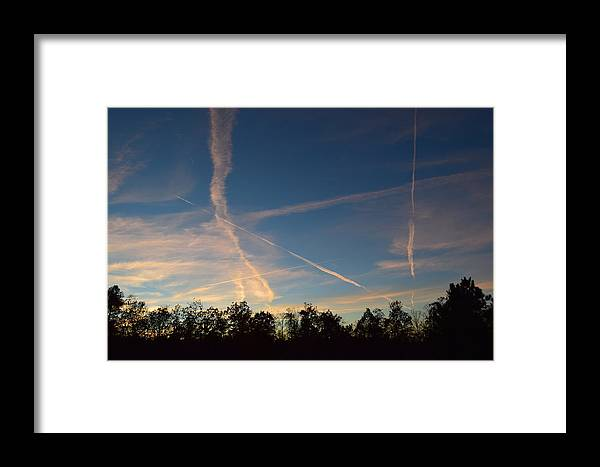 Jets Framed Print featuring the photograph Jet Art 38 by Lawrence Hess