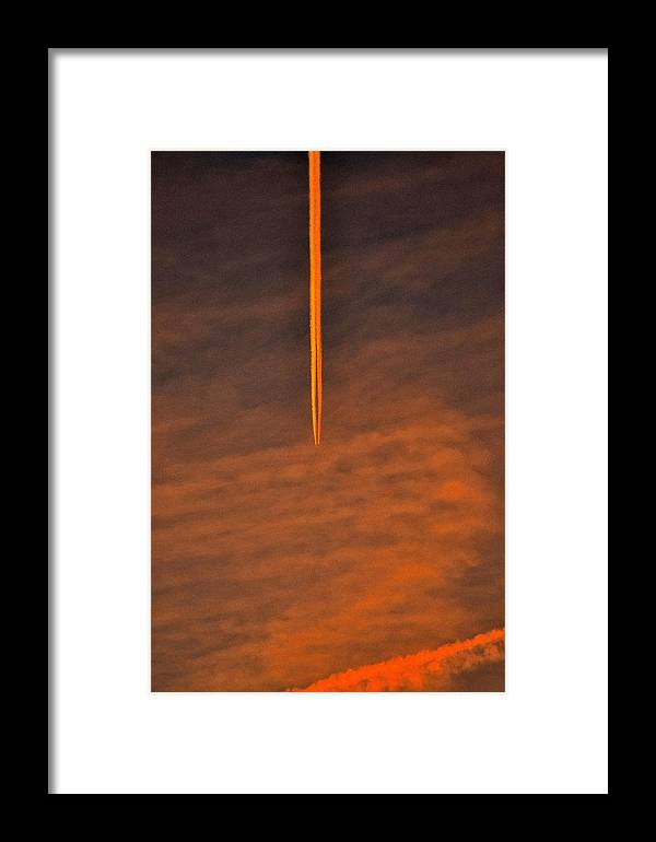 Jets Framed Print featuring the photograph Jet Art 54 by Lawrence Hess