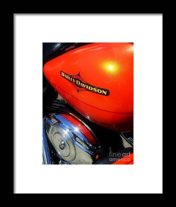 Harley Framed Print featuring the photograph Jewel Of Bikes Motorcycles by Scott B Bennett