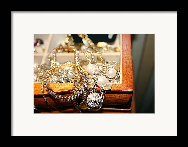 Jewelry Framed Print featuring the photograph Jewelry Collections by Ester Rogers