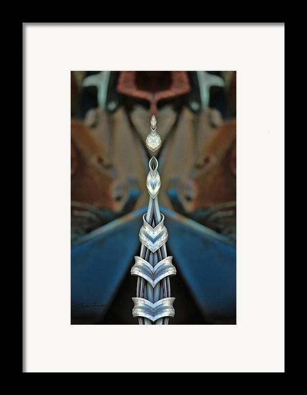 Kaleidoscope Framed Print featuring the photograph Jewels by Sylvia Thornton