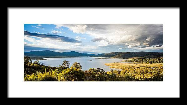 Landscape Framed Print featuring the photograph Jindabyne by Sean H Choe