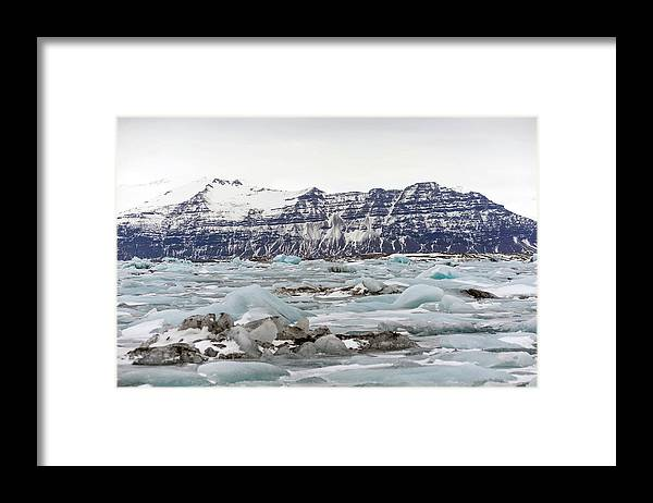Tranquility Framed Print featuring the photograph Jokulsarlon by Photo By Dave Moore