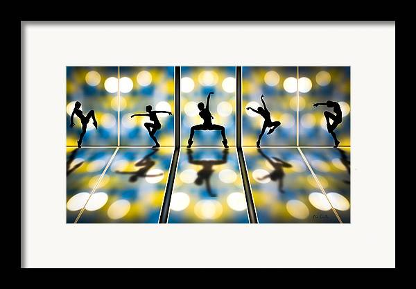 Dance Framed Print featuring the digital art Joy Of Movement by Bob Orsillo