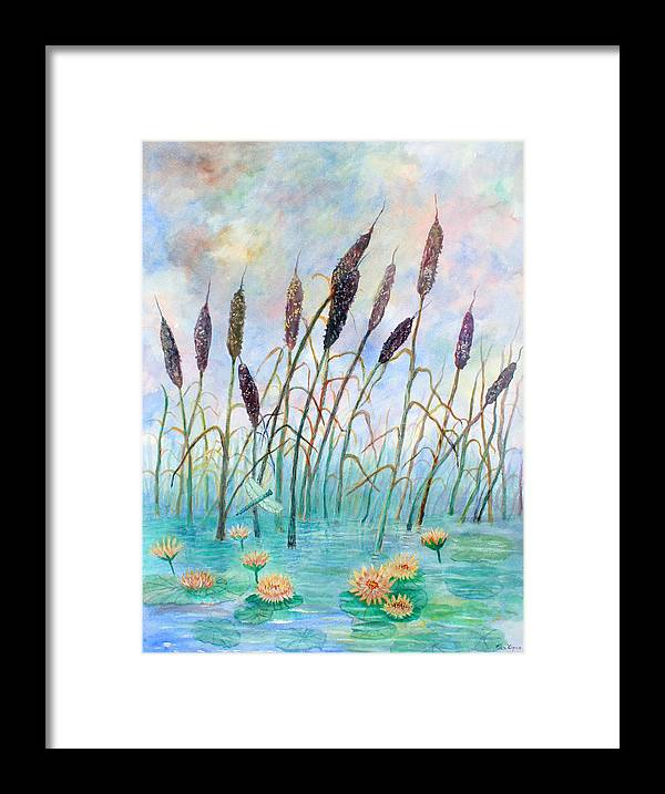 Pond Framed Print featuring the painting Joy Of Summer by Ben Kiger